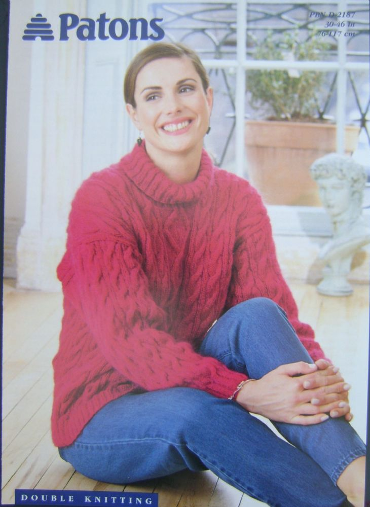 Patons Knitting Pattern 2187